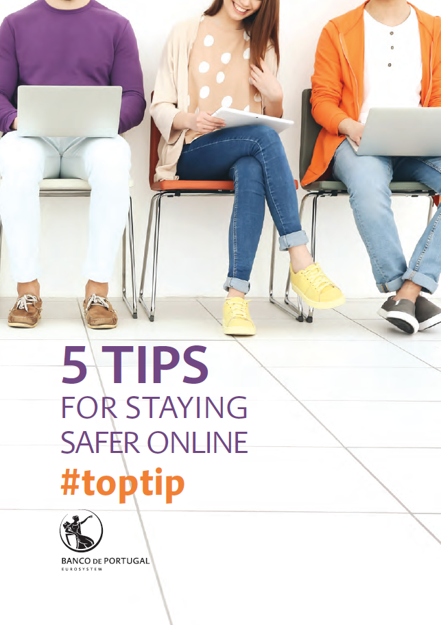 5 tips for staying safer online #toptip