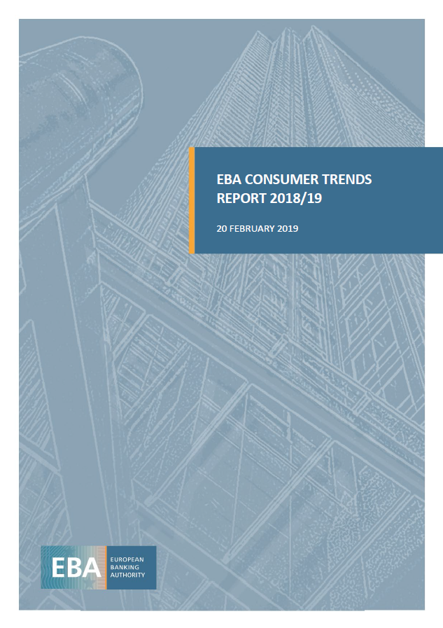EBA Consumer Trends Report 2018/2019